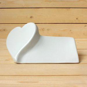 Corazón skif de fotocerámica - Arte funerario - Druyen Fotocerámica y Deco