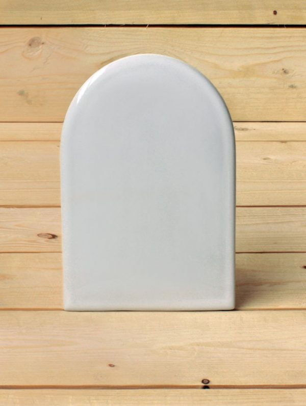 Kupula biribileko forma duen portzelanazko fotozeramika - Hilobi-Artea - Druyen Fotozeramika eta Deko - Donostia-San Sebastián