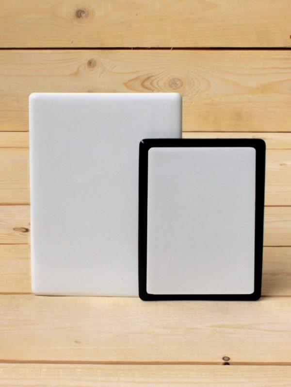 Fotocerámica rectangular sin marco - Arte funerario - Druyen Fotocerámica y Deco