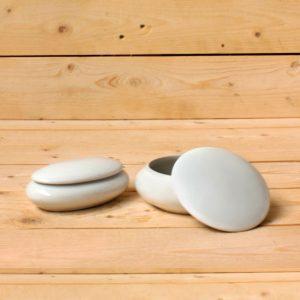 Arte para la memoria: urnas ovales y redondas de porcelana - Druyen Fotocerámica y Deco