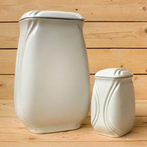 Arte para la memoria: urna Torre de porcelana - Druyen Fotocerámica y Deco