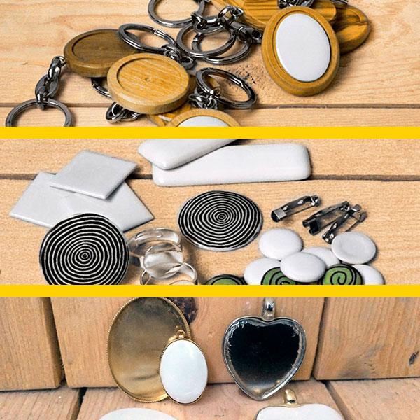 Arte para la memoria: llaveros, miniaturas y colgantes personalizados en porcelana, bronce , oro - Druyen Fotocerámica y Deco